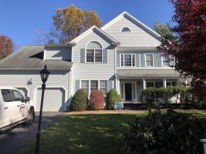 photo of a house in Acton painted by Aurora Exterior Painting