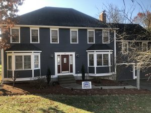 Home in Grafton painted by Aurora House Painters