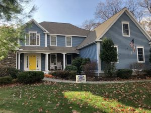 House in Bolton MA painted by Aurora Exterior Painting