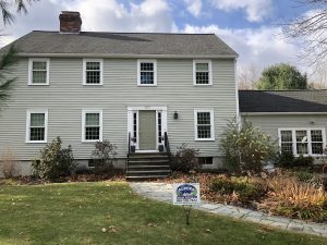 A house painted in Boxborough MA by Aurora Exterior Painting