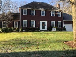 House in Grafton painter by Aurora Exterior Painting